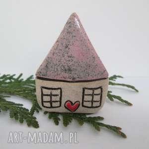 krasnoludkowy domek, ceramiczny, domeczek, malutki, mały, domek ceramika
