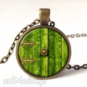 naszyjniki hobbit - medalion z łańcuszkiem, hobbit, drzwi, nora, medalion, władca