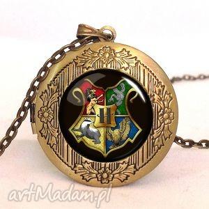 handmade naszyjniki hogwart - sekretnik z łańcuszkiem