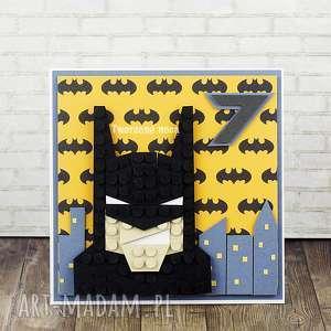 świąteczny prezent, kartka urodzinowa batman, urodziny