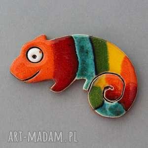 święta, kameleon-magnes ceramiczny, kolekcjoner, minimalizm, energia, prezent