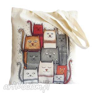 torba na zakupy, torba, koty, kot, eko, pod choinkę prezent