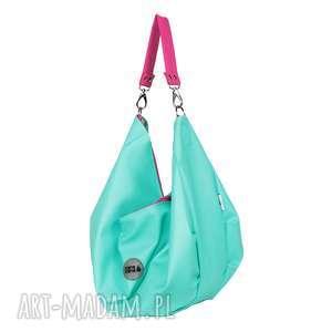 3d92ee38a7455 ... torba na ramiĘ voor mini seledyn, duża torba, torbo plecak, plecak  rower,