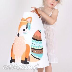 ręcznie robione pokoik dziecka ogromny pojemnik z lisem