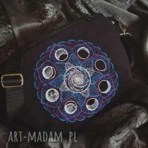 nerki nerka xxl mandala fazy księżyca, nerka, mandala, haft, fazyksiężyca