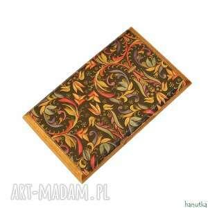 etui ornament - wizytownik, na karty płatnicze, prezent