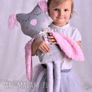 hand-made maskotki przytulanka dziecięca sowa