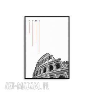 grafika w ramie rzym b2, rzym, mapa, grafika, londyn, paryż, prezent, wyjątkowe