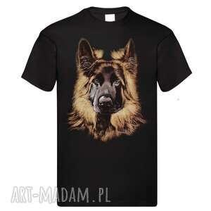 ręcznie malowana koszulka z portretem psa, ręczniemalowane, malowane