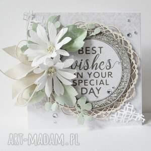 Pastelowa kartka w pudełku, ślub, życzenia, gratulacje