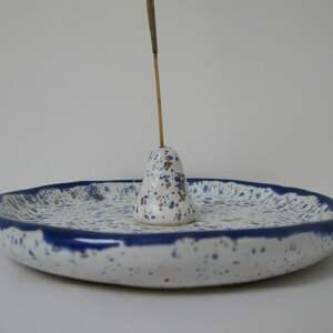 dekoracje talerzyk ze stożkiem na kadzidełko, podstawka