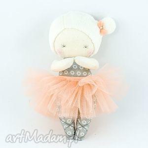 laleczka baletnica morelka, laleczka, lala, baletnica, maskotka, przytulanka