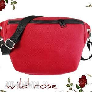 nerka xxl wild rose, nerka, czerwona, basic, torebka, saszetka, róża, święta
