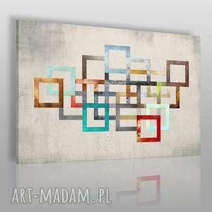 obraz na płótnie - łańcuch kolory 90x60 cm 26501/90x60, łańcuch
