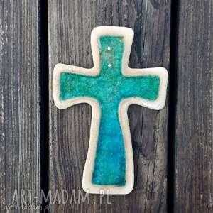 ceramika zamówienie dla p moniki krzyżyk i szkło, krzyż