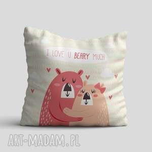 poduszka - love beary, poduszka, poszewka, miłość, love, prezent