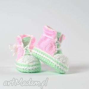 trampki niemowlęce little pink, buciki, trampki, antyalergiczne, niemowlę