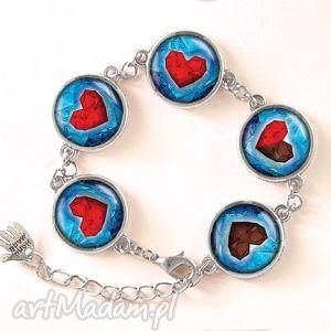 serca - bransoletka - romantyczna, prezent zelda