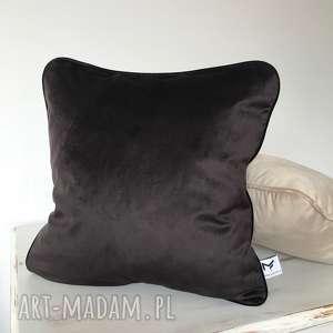 Poduszka Velvet WENGE, poduszki, welwet, aksamit, kedra