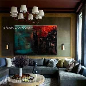 duży obraz nowoczesny do modnego salonu, obrazy nowoczesne
