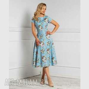 sukienki sukienka klara total midi allegria, midi, na wiosnę