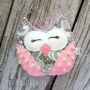 handmade pokoik dziecka koronkowa mała sowa