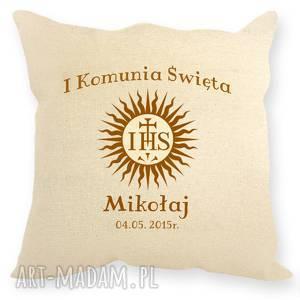 dodatki poduszka - pamiątka pierwszej komunii świętej, komunia