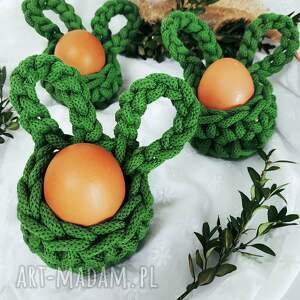handmade pomysł jaki prezent pod choinkę koszyczki wielkanocne na jedno jajko
