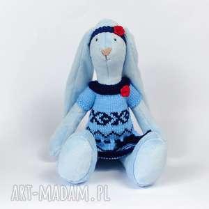 maskotka królik, maskotka, przytulanka, zabawka, dziewczynka, pamiątka, prezent dla