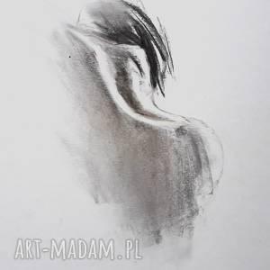woman 30x40, grafika kobieta, czarno biała grafika, obraz do sypialni, obrazek
