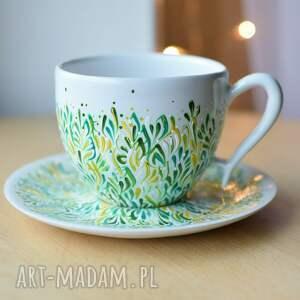 filiżanka dla mamy ręcznie malowana ceramiczna, filiżanka, ceramika, ceramiczna