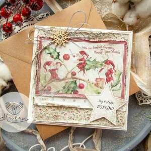 mrufru. Magiczna kartka na Święta Bożego Narodzenia
