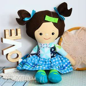 lalki lalka rojberka - słodki łobuziak zuzia 50 cm, lalka, szmacianka