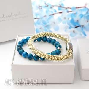 Zestaw Bransoletek Elegance Set - Jaspis , modne-bransoletki, bransoletki