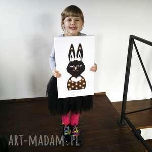 cosniecos wiecący obraz led pani królik prezent lampa dziecko, obraz