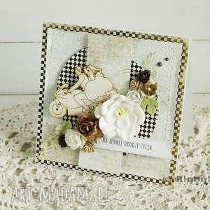 scrapbooking kartki kartka ślubna w pudełku, 223, ślub, kartka, motocykl