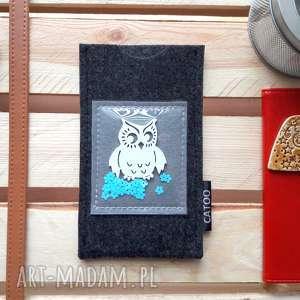 pomysł na prezent święta Etui telefon z Sówką Limited Edition, futerał, filcowy