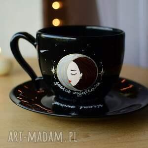 ceramika filiżanka księżycowa dla wyjątkowej kobiety, filiżanka