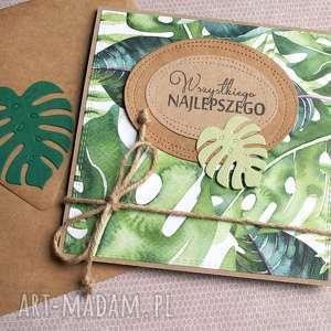 Wszystkiego najlepszego: tropical collection kartki kaktusia