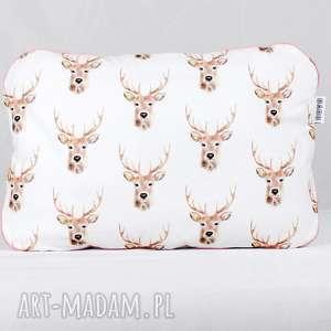 dla dziecka poduszka jelenie 45 x 60 cm, poduszka, przeszkolaka, haft, imienia