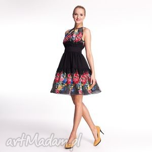 ręczne wykonanie sukienki veroniqe - sukienka