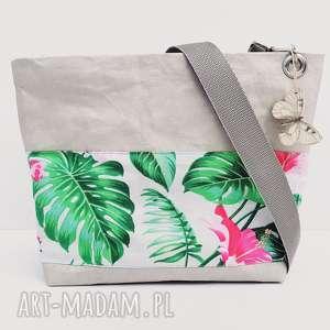 handmade na ramię listonoszka z papieru maxi