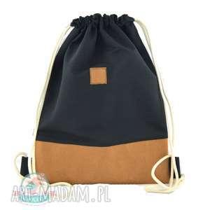ręcznie zrobione plecaki worek- plecak washable paper