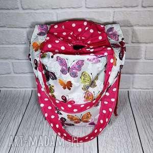 sznurekwiki eco torba na zakupy bawełniana z zamknięciem, torba, zakupy, shopperka
