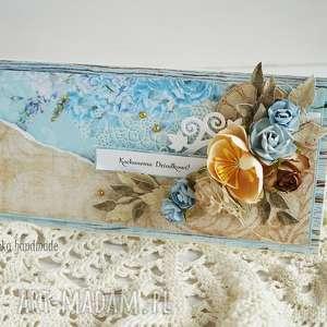 hand-made scrapbooking kartki kartka dla dziadka (z pudełkiem)