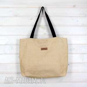 amelia pojemna wytrzymała torebka na ramię - torebka, pojemna, mocna