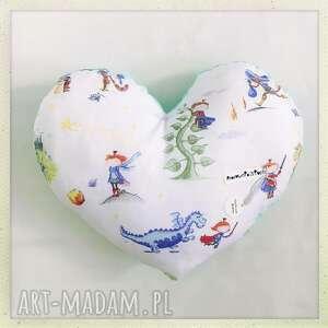 poduszka serce królewicz - królewicz, minky, mieta, serce