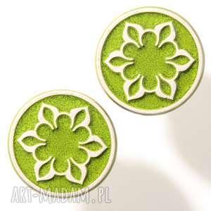 Gałki do mebli jasno zielone wz. II, gałki-do-mebli, uchwyty-do-mebli, ceramika