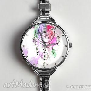 Łapacz snów iii - zegarek z dużą tarczką 0872cws - dreamcatcher