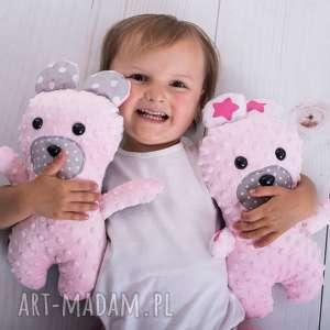 przytulanka dziecięca miś, miś zabawka, hand made, prezent